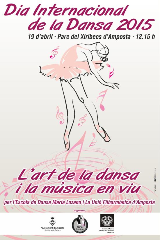 Societat Musical La Unió Filharmònica d´Amposta > Arxiu de notícies > «L´art de la dansa i la música en viu»