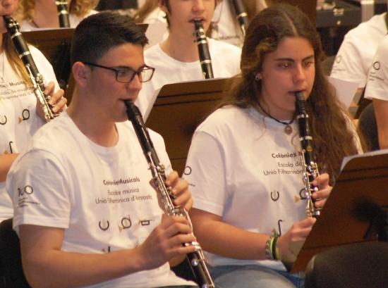 Societat Musical La Unió Filharmònica d´Amposta > Arxiu de notícies > Dos alumnes de l´escola, seleccionats per a la Banda Simfònica de la Diputació de Tarragona