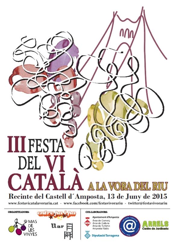 Societat Musical La Unió Filharmònica d´Amposta > Arxiu de notícies > III Festa del Vi Català a la vora del riu