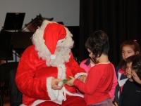 Festa de Nadal amb el Pare Noël i xocolatada