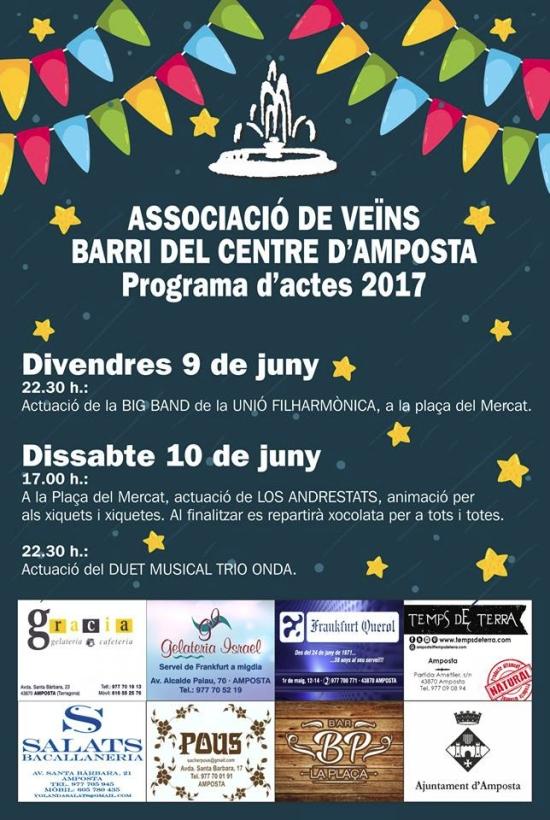 Societat Musical La Unió Filharmònica d´Amposta > Arxiu de notícies > La Big Band de la Fila actuarà aquest divendres a les Festes del Barri del Centre