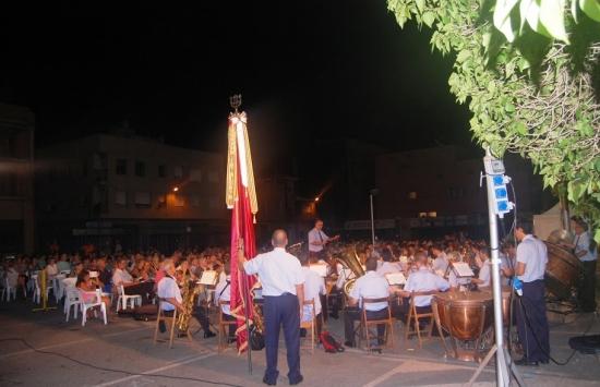 Societat Musical La Unió Filharmònica d´Amposta > Arxiu de notícies > Galeria de fotos del concert de la Banda a les Festes del Grau