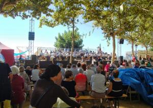 La Banda de Música de la Fila promociona, juntament amb altres entitats del territori, la forta tradició musical de les Terres de l´Ebre