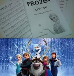 """Festival solidari """"Submergeix-te en el món de Frozen"""""""