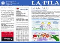 Societat Musical La Unió Filharmònica d´Amposta > Full informatiu > FULL INFORMATIU ABRIL 2010