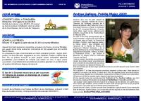Societat Musical La Unió Filharmònica d´Amposta > Full informatiu > FULL INFORMATIU AGOST 2009