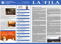 Societat Musical La Unió Filharmònica d´Amposta > Full informatiu > FULL INFORMATIU DESEMBRE 2010