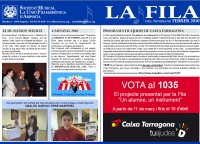 Societat Musical La Unió Filharmònica d´Amposta > Full informatiu > FULL INFORMATIU FEBRER 2010