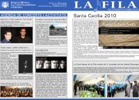 Societat Musical La Unió Filharmònica d´Amposta > Full informatiu > FULL INFORMATIU NOVEMBRE 2010