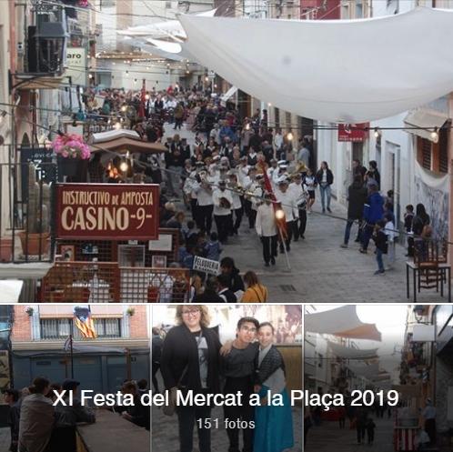 Societat Musical La Unió Filharmònica d´Amposta > Notícies > Galeria de fotos de la XI edició de la Festa del Mercat a la Plaça d´Amposta