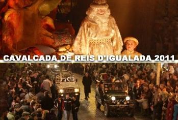 Societat Musical La Unió Filharmònica d´Amposta > Arxiu de notícies > CAVALCADA DE REIS D´IGUALADA 2011