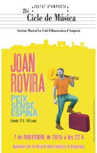 «PEIX SENSE ESPINA» amb Joan Rovira