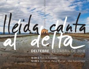 """La Coral Aquae de la Fila participarà al """"Lleida Canta al Delta"""" a Deltebre"""