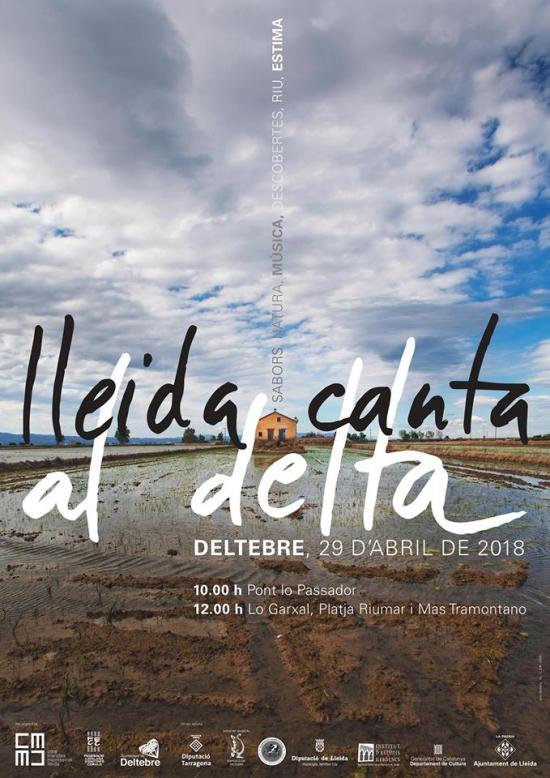 """Societat Musical La Unió Filharmònica d´Amposta > Notícies > La Coral Aquae de la Fila participarà al """"Lleida Canta al Delta"""" a Deltebre"""