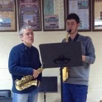 Masterclass de saxo del professor Christophe Bois