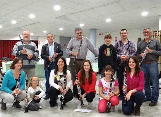 Societat Musical La Unió Filharmònica d´Amposta > Arxiu de notícies > El director de la nostra escola imparteix una masterclass a Tarragona
