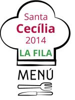 Menú del dinar de germanor Santa Cecília 2014