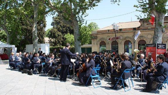 Societat Musical La Unió Filharmònica d´Amposta > Arxiu de notícies > LA FILA PROMOCIONA AMPOSTA A MONTPELLIER