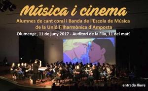 Societat Musical La Unió Filharmònica d´Amposta > Notícies > Música i cinema