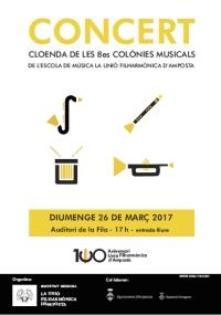 Divendres comença la 8a edició de les Colònies Musicals