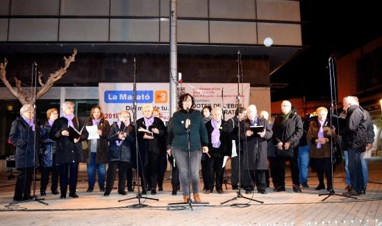 Societat Musical La Unió Filharmònica d´Amposta > Notícies > La Coral Aquae canta per la llibertat