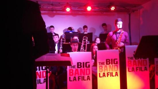 Societat Musical La Unió Filharmònica d´Amposta > Arxiu de notícies > Nit de jazz a la Fila amb la Big Band