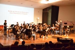 La Fila celebra una nova edició de la Trobada de Bandes Juvenils amb la participació de 450 músics