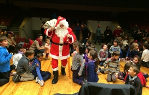 Galeria de fotos de la visita del Pare Noël a la Fila