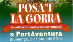 POSA´T LA GORRA A PORT AVENTURA. Diumenge 1 de juny