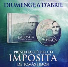 Presentació del CD Impósita de Tomàs Simón
