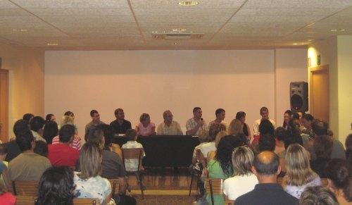 Societat Musical La Unió Filharmònica d´Amposta > Arxiu de notícies > Presentació del curs escolar 2008/2009