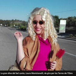 La gran diva del bel canto, Laura Montsianelli, assistirà a la Troba de bandes juvenils
