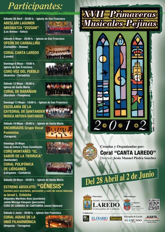 Societat Musical La Unió Filharmònica d´Amposta > Arxiu de notícies > La Coral Aquae participarà en un festival coral a Laredo (Cantàbria)