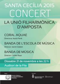 Programa del Concert de Santa Cecília 2015