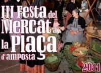 PROGRAMA DE LA III FESTA DEL MERCAT A LA PLAÇA