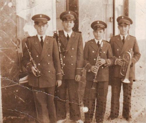 Societat Musical La Unió Filharmònica d´Amposta > Banda de Música > Promoció de músics any 1945