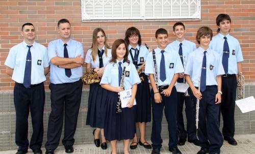 Societat Musical La Unió Filharmònica d´Amposta > Banda de Música > Promoció de músics any 2010