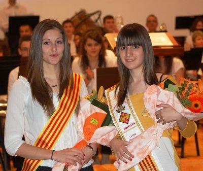 Societat Musical La Unió Filharmònica d´Amposta > Arxiu de notícies > Presentació de les pubilles 2012