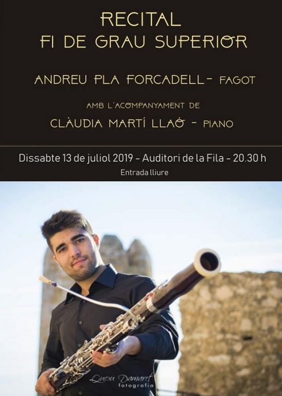 Societat Musical La Unió Filharmònica d´Amposta > Notícies > Recital fi de Grau Superior