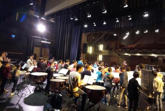 Societat Musical La Unió Filharmònica d´Amposta > Notícies > Alumnes de la Fila participen en la Trobada de percussionistes