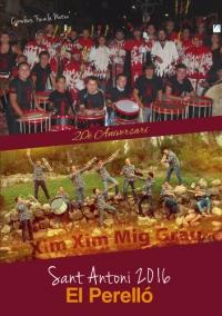 Societat Musical La Unió Filharmònica d´Amposta > Arxiu de notícies > 19a TROBADA DE BANDES DEL PERELLÓ. Sant Antoni 2016.