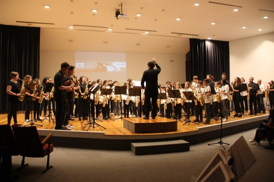 Societat Musical La Unió Filharmònica d´Amposta > Notícies > 7a Trobada de saxos de les Terres de l´Ebre