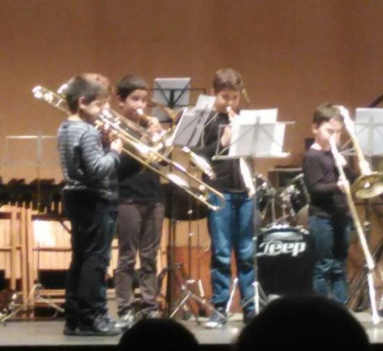 Societat Musical La Unió Filharmònica d´Amposta > Arxiu de notícies > 2a Trobada de Trombons de les escoles de música de les Terres de l´Ebre