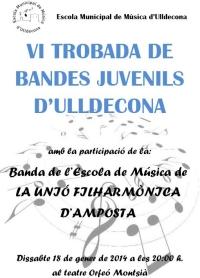VI TROBADA DE BANDES JUVENILS D´ULLDECONA