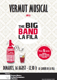 VERMUT MUSICAL AMB LA BIG BAND LA FILA