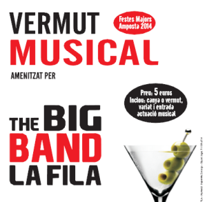 VERMUT MUSICAL A CÀRREC DE LA BIG BAND DE LA FILA