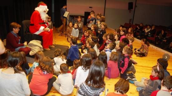 Societat Musical La Unió Filharmònica d´Amposta > Arxiu de notícies > Benvingut a la Fila, Pare Noel!
